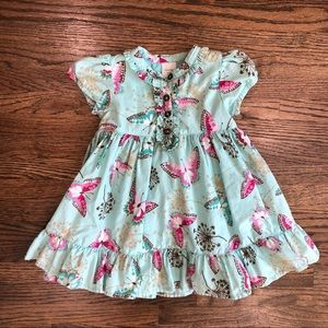 Gap Butterfly Fit and Flare Classic Look Dress